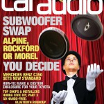 Car Audio Magazine Cover by Eric Simpson