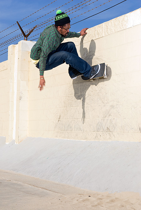 Ron Chatman Wallride Manhattan Beach, CA 2011