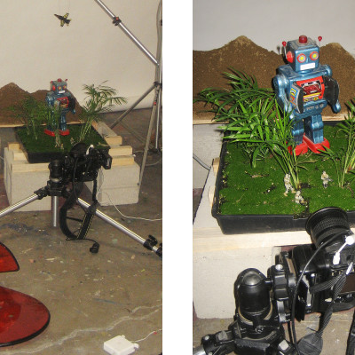 Robot Jungle Attack